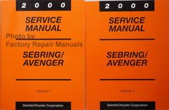 2000 Service Manual Sebring/Avenger