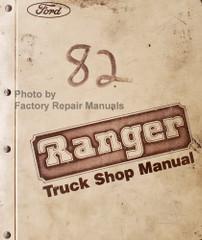 1983 Ford Ranger Shop Manual