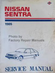 Nissan Sentra 1985 Service Manual