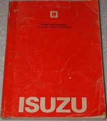 Isuzu Workshop Manual 19781 Isuzu I-Mark PF Gasoline