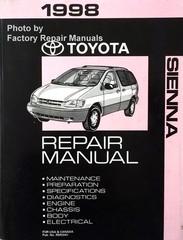 1998 Toyota Sienna Repair Manual
