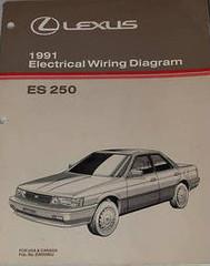 Lexus 1991 Electrical Wiring Diagrams