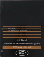 2005 Ford Focus Electrical Wiring Diagrams Original ...