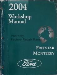 2004 Ford Freestar Mercury Monterey Workshop Manual