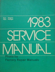 1983 Dodge Ram Van Wagon Plymouth Voyager Service Manual