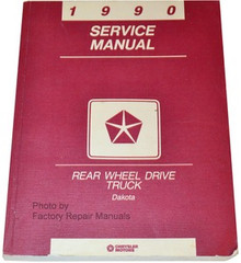 1990 Dodge Dakota Service Manual