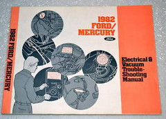 1982 Ford Crown Victoria Ltd Mercury Marquis Electrical Troubleshooting Manual