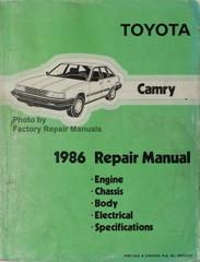 Toyota Camry 1986 Repair Manual