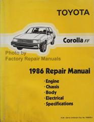 Toyota Corolla FF 1986 Repair Manual