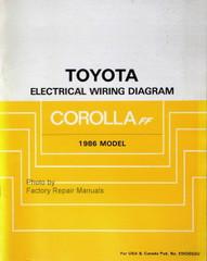 1986 Toyota Corolla FF Electrical Wiring Diagrams