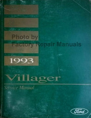 1993 Mercury Villager Service Manual