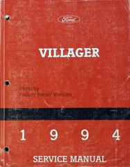 1994 Villager Service Manual