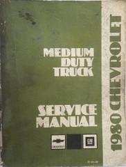 1980 Chevrolet Medium Duty Truck Service Manual