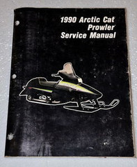 1990 ARCTIC CAT PROWLER Snowmobile Factory Dealer Shop Service Repair Manual