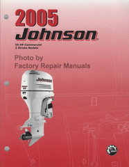 2005 Johnson 55 HP Commercial 2 Stroke Models Service Manual