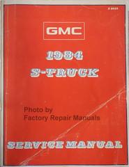 1984 GMC S-Truck Service Manual