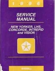 1996 New Yorker Concorde LHS Intrepid Vision Factory Service Manual Shop Repair