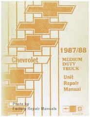 Chevrolet 1987/88 Medium Duty Truck Unit Repair Manual