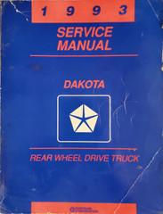 1993 Service Manual Dakota Truck