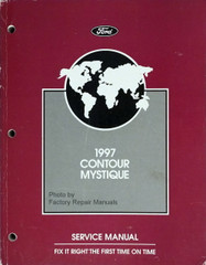 1997 Contour Mystique Service Manual