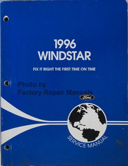 1996 Windstar Ford Service Manual