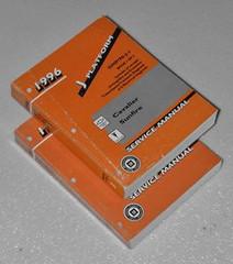 1996 Chevy Cavalier Pontiac Sunfire Factory Service Manual Set Original Repair