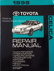 1999 Toyota Celica Repair Manual