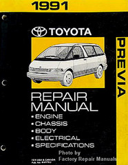 1991 Toyota Previa Factory Repair Manual
