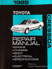 Toyota Toyota Cressida Page 1 Factory Repair Manuals