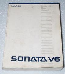 1989 1990 HYUNDAI SONATA Factory Dealer Shop Service Repair Manual GL GLS V6