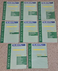 2000 Subaru Forester Service Manuals