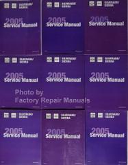 2005 Chevy Silverado GMC Sierra Sierra Denali Service Manual Volume 1, 2, 3, 4, 5