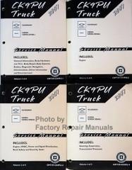 CK9PU Truck 2007 Chevrolet Silverado GMC Sierra, Sierra Denali Service Manual Volume 1, 2, 3, 4