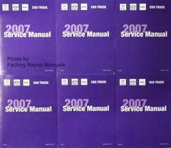 Cadillac Chevrolet GMC CK9 Truck 2007 Service Manual Reprint