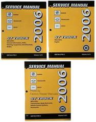 2006 Buick Rainier Chevrolet TrailBlazer EXT GMC Envoy Shop Service Repair Manual Set