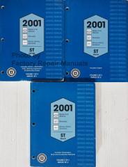2001 Chevy S10 Truck Blazer, GMC S15 Sonoma Jimmy Envoy, Oldsmobile Bravada Service Manual Volume 1, 2, 3