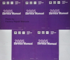 2005 ST Truck Service Manual Rainer Trailblazer Envoy Volume 1, 2 3