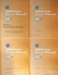 2008 Cadillac CTS Factory Service Manual Volume 1, 2, 3, 4
