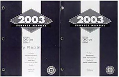 2003 Cadillac CTS Service Manual Volume 1, 2