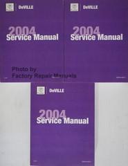 2004 Cadillac Deville Service Manuals Complete Set
