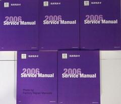 2006 Cadillac XLR / XLR-V Service Manual Volume 1, 2, 3, 4, 5