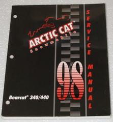 1998 ARCTIC CAT BEARCAT 340 440 Snowmobile OEM Service Repair Manual 340cc 440cc