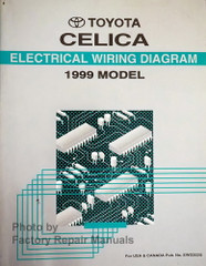 1999 Toyota Celica Electrical Wiring Diagrams