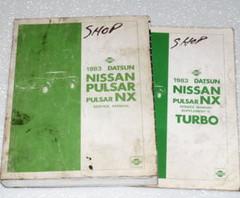 1983 Nissan Pulsar NX Turbo Factory Service Manual
