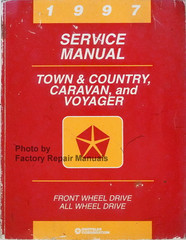 1997 Service Manual Town & Country, Caravan, and Voyager