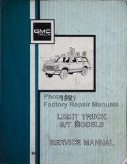 GMC 1991 Light Truck S/T Service Manual