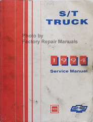 1994 GMC Chevrolet S/T Truck Service Manual