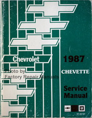 1987 Chevrolet Chevette Service Manual
