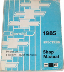 1985 Chevrolet Spectrum Shop Manual