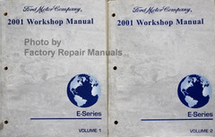 Ford 2001 Workshop Manual E-Series Volume 1, 2